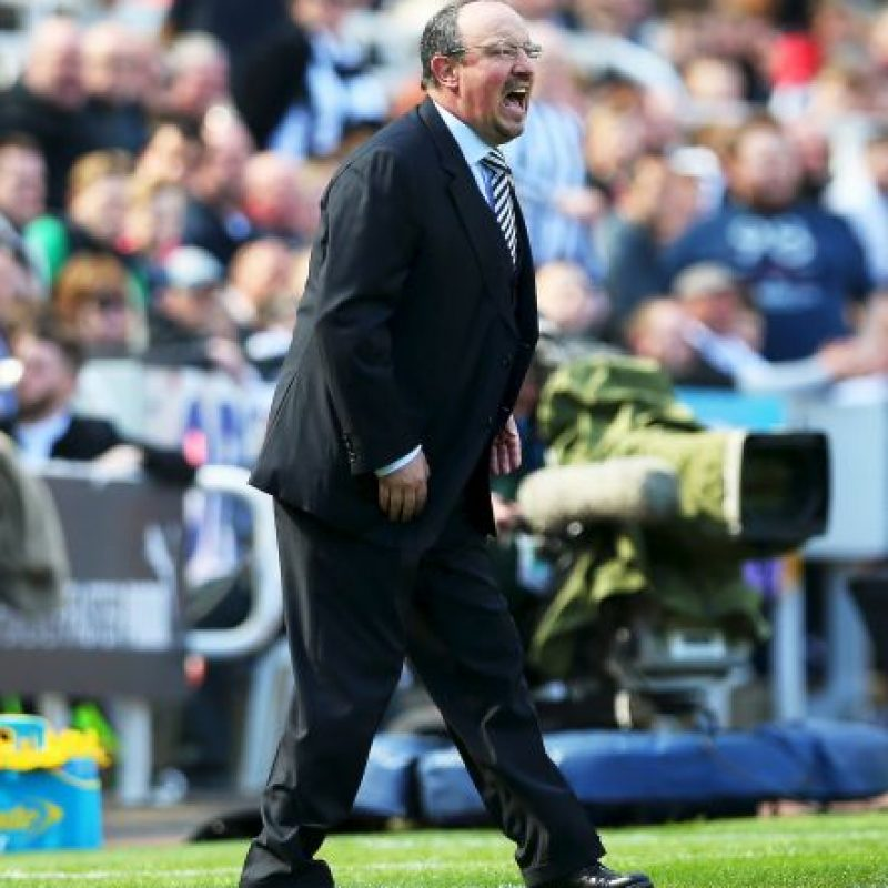 6. Rafa Benítez (Newcastle). 519.24 millones de euros Foto: Getty Images
