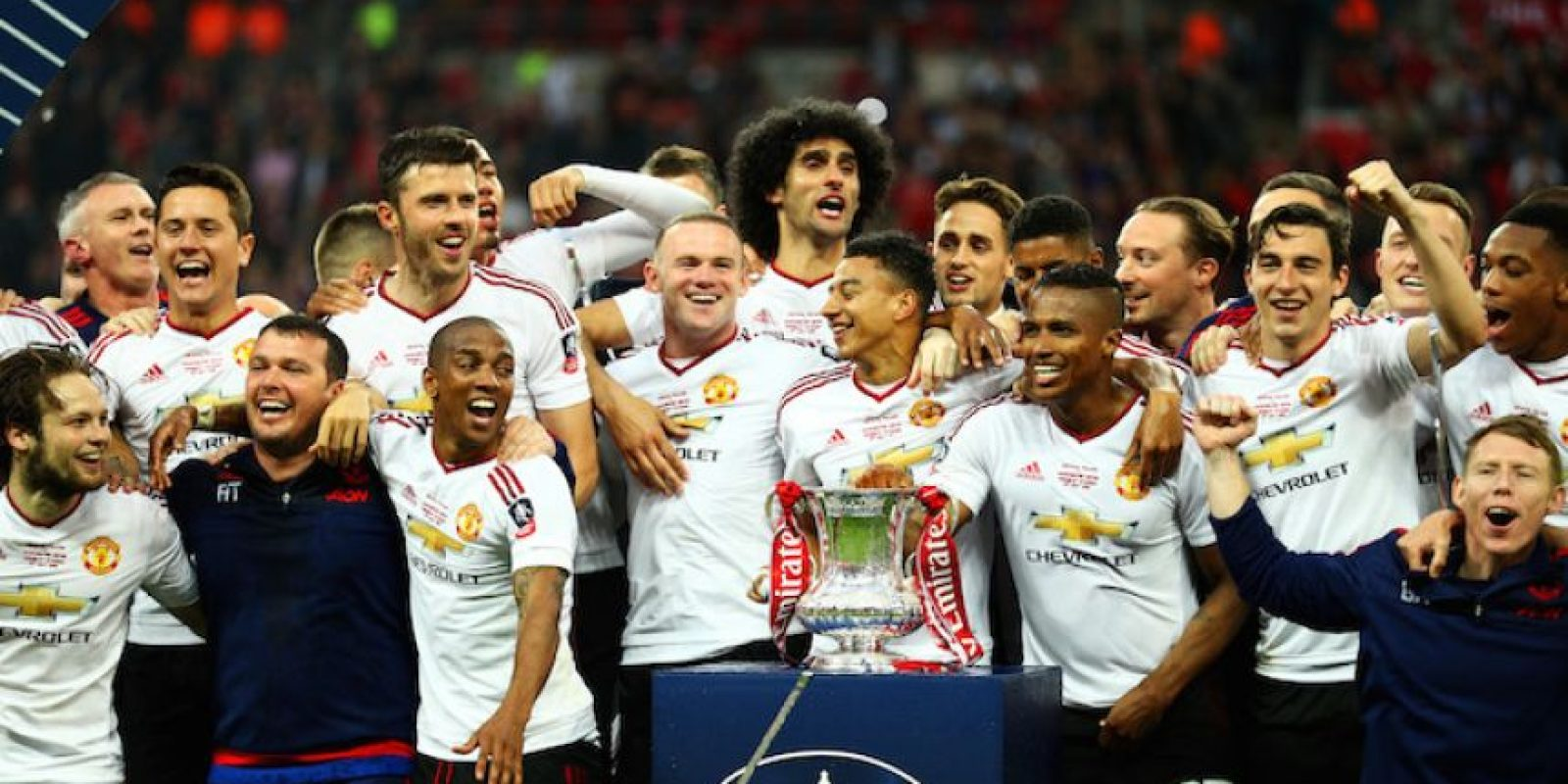 5.- Manchester United, 3,320 mdd Foto:Getty Images