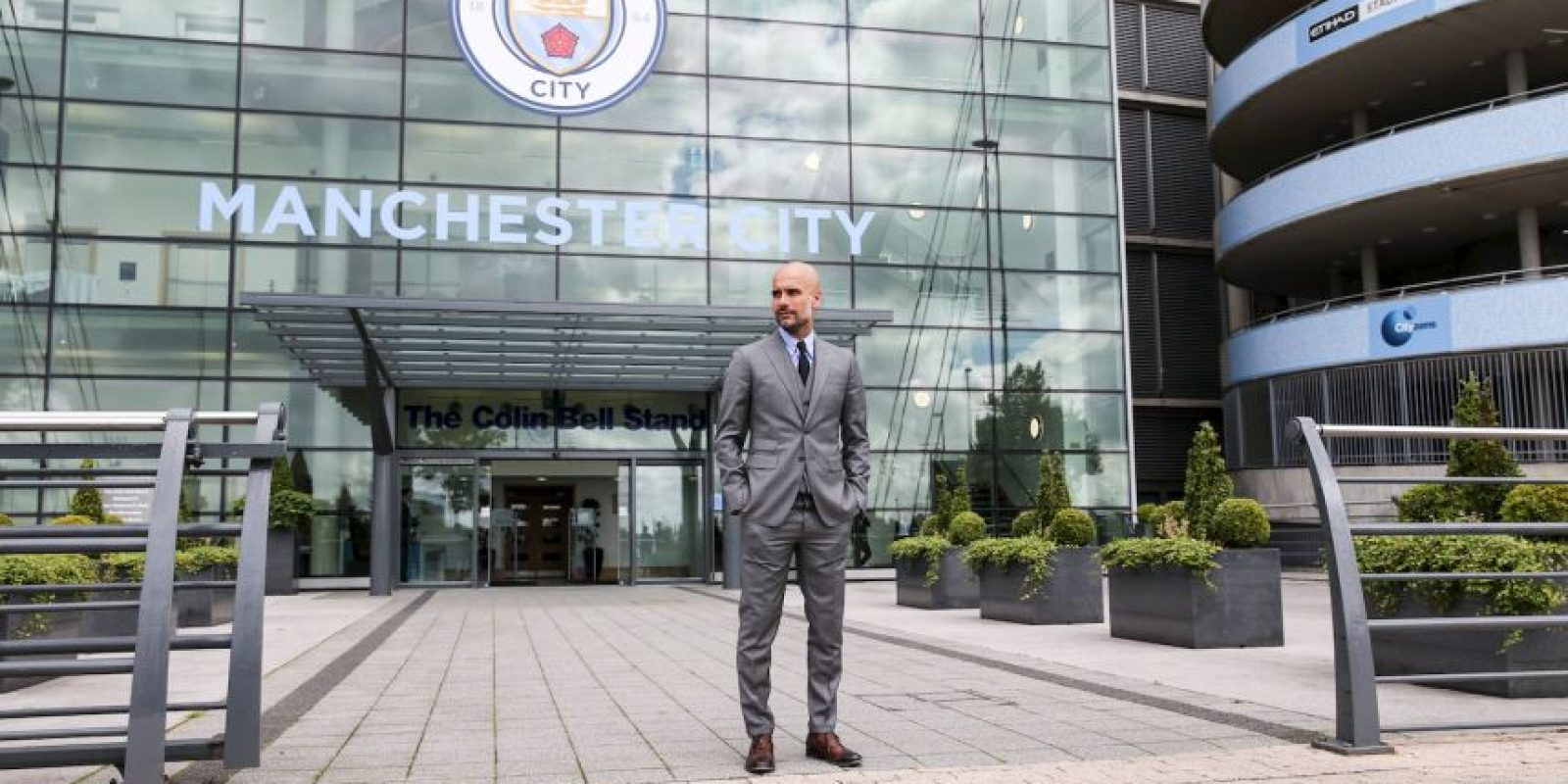 4. Josep Guardiola (Manchester City). 592.5 millones de euros Foto: Getty Images
