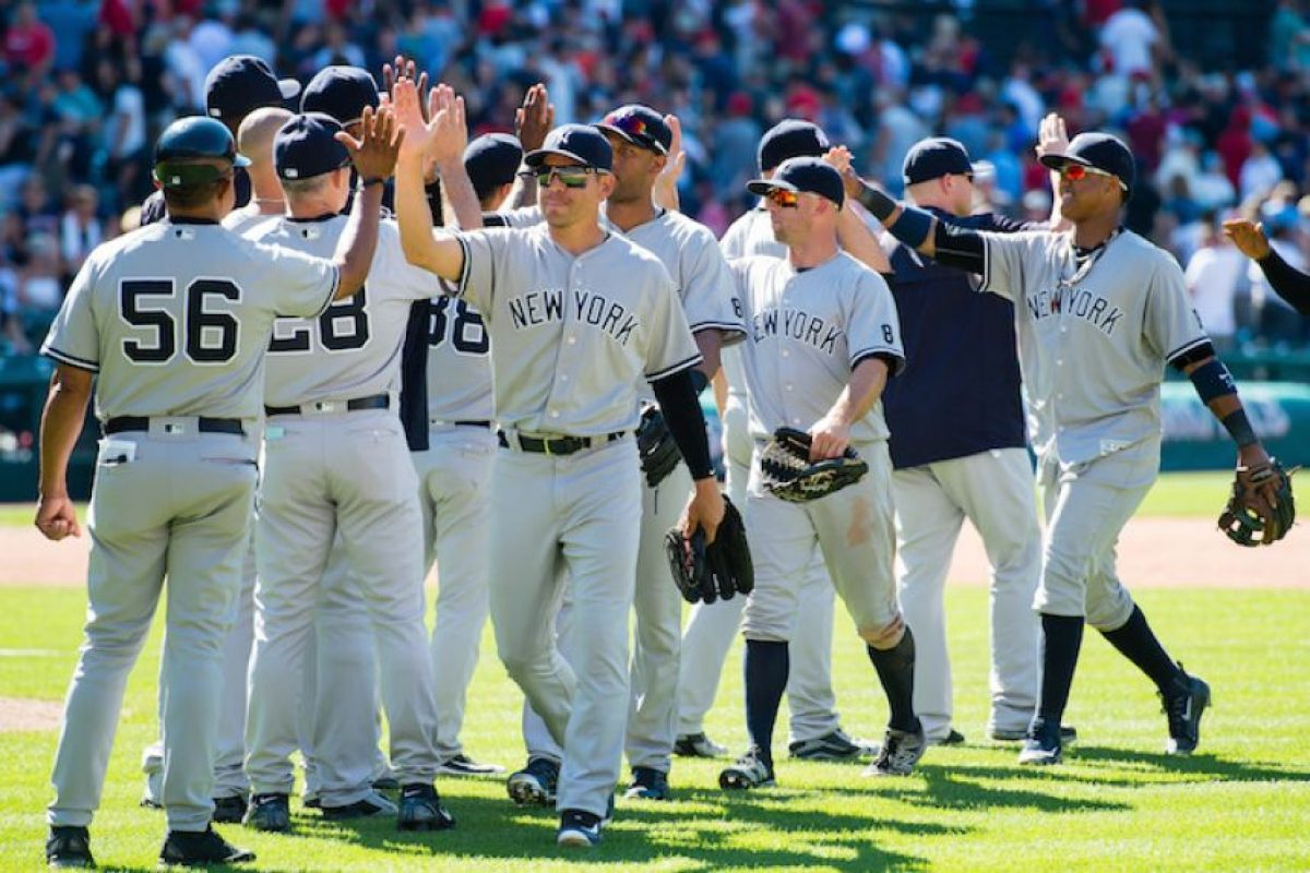 4.- New York Yankees, 3,400 mdd Foto:Getty Images