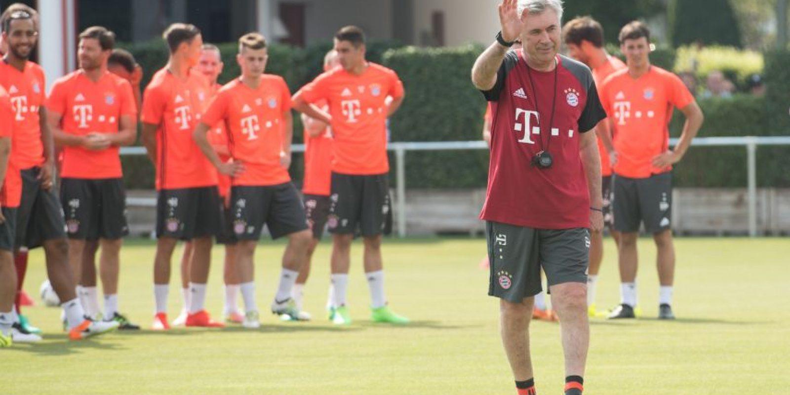 2. Carlo Ancelotti (Bayern Múnich). 839 millones de euros Foto:Getty Images