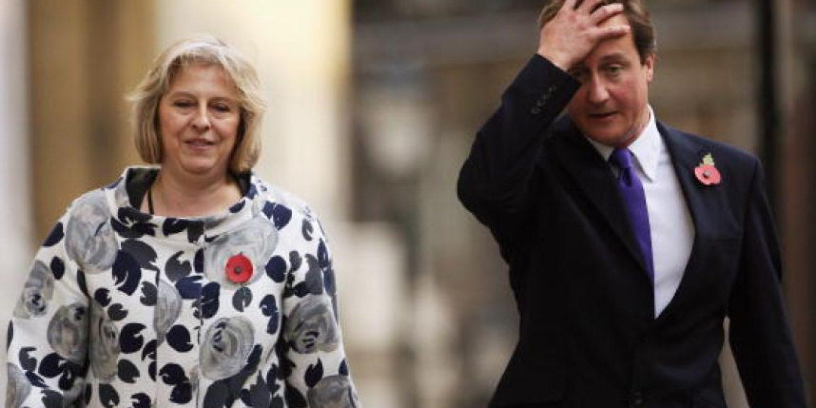 Actualmente es la Primer Ministro de Reino Unido Foto:Getty Images