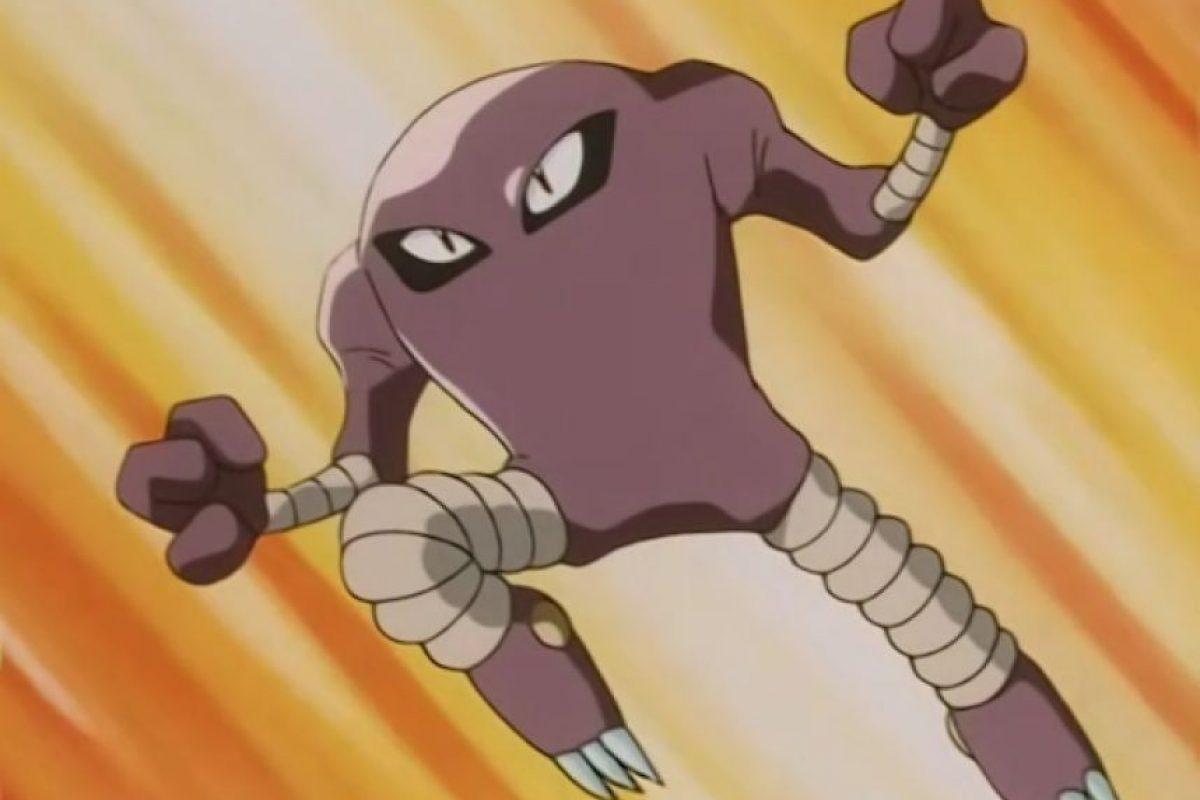 Hitmonlee es un pokémon luchador por lo que estaría con el Santos. Foto:Especial