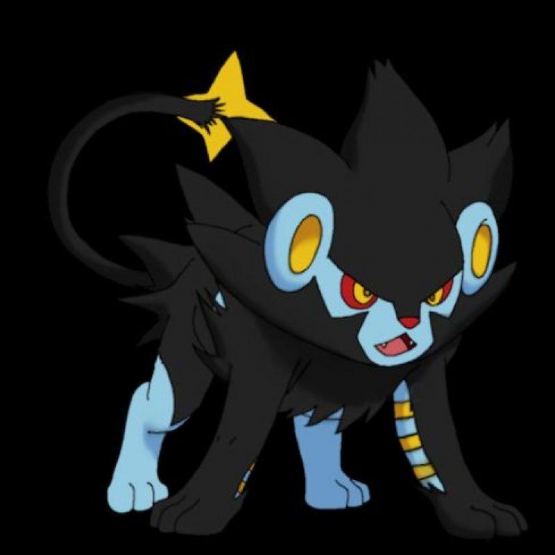 Luxray, un pokémon eléctrico con el Necaxa. Foto:Especial