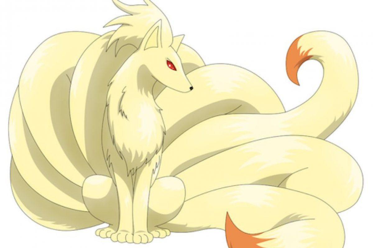 Ninetails sería la mascota del Atlas. Foto:Especial