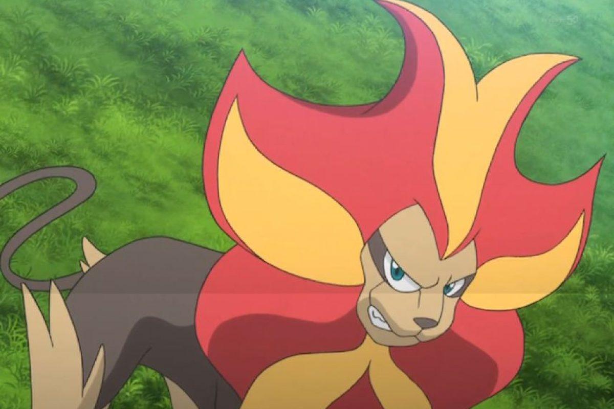 Pyroar y el León son uno mismo. Foto:Especial