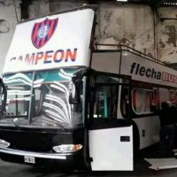 San Lorenzo perdió 4 a 0 con Lanús y no pudo festejar el título de Argentina Foto:Captura de pantalla