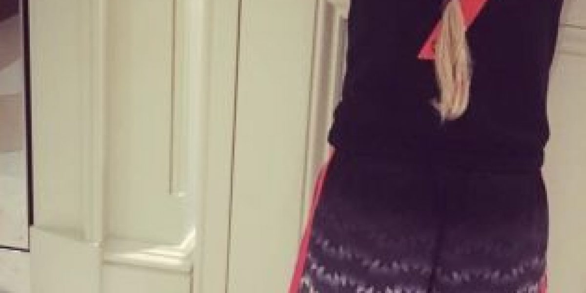 Este beso entre Victoria Beckham y su hija causó polémica