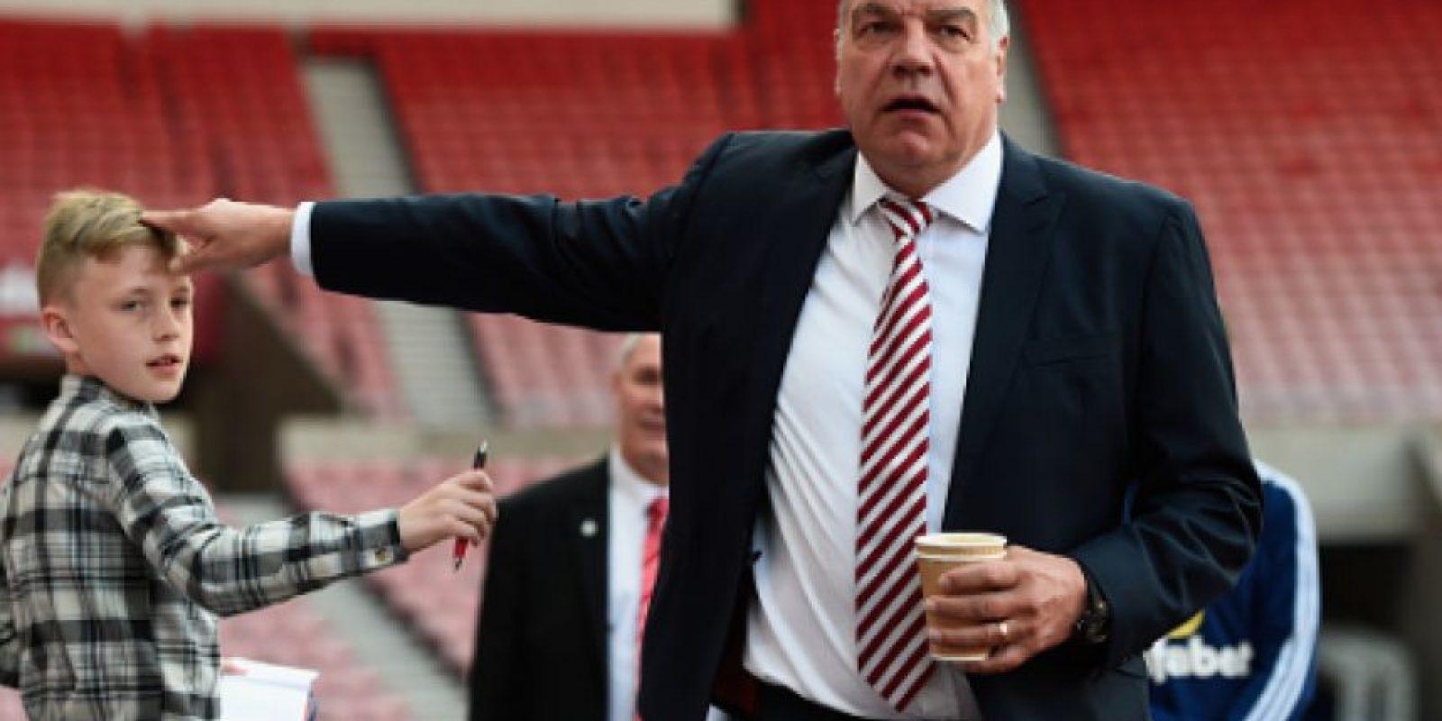 Sam Allardyce se perfila para ser el nuevo técnico de Inglaterra Foto:Getty Images
