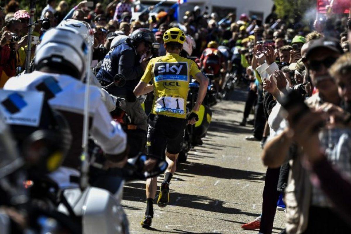 El que era primero hasta esta etapa no quería perder más tiempo y así no arriesgar el liderato Foto:AFP