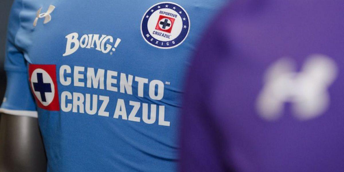 Cruz Azul presentó innovadora vestimenta para el Apertura 2016