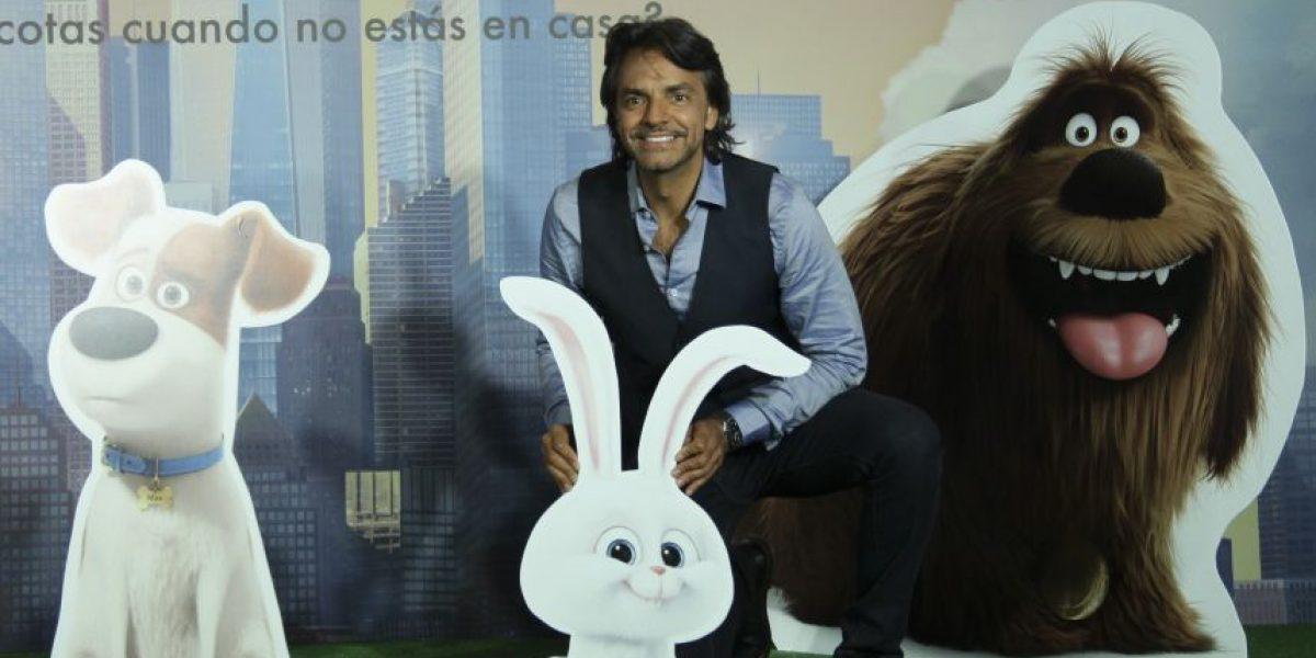 Agrada a Eugenio Derbez trabajar en proyectos de carácter familiar