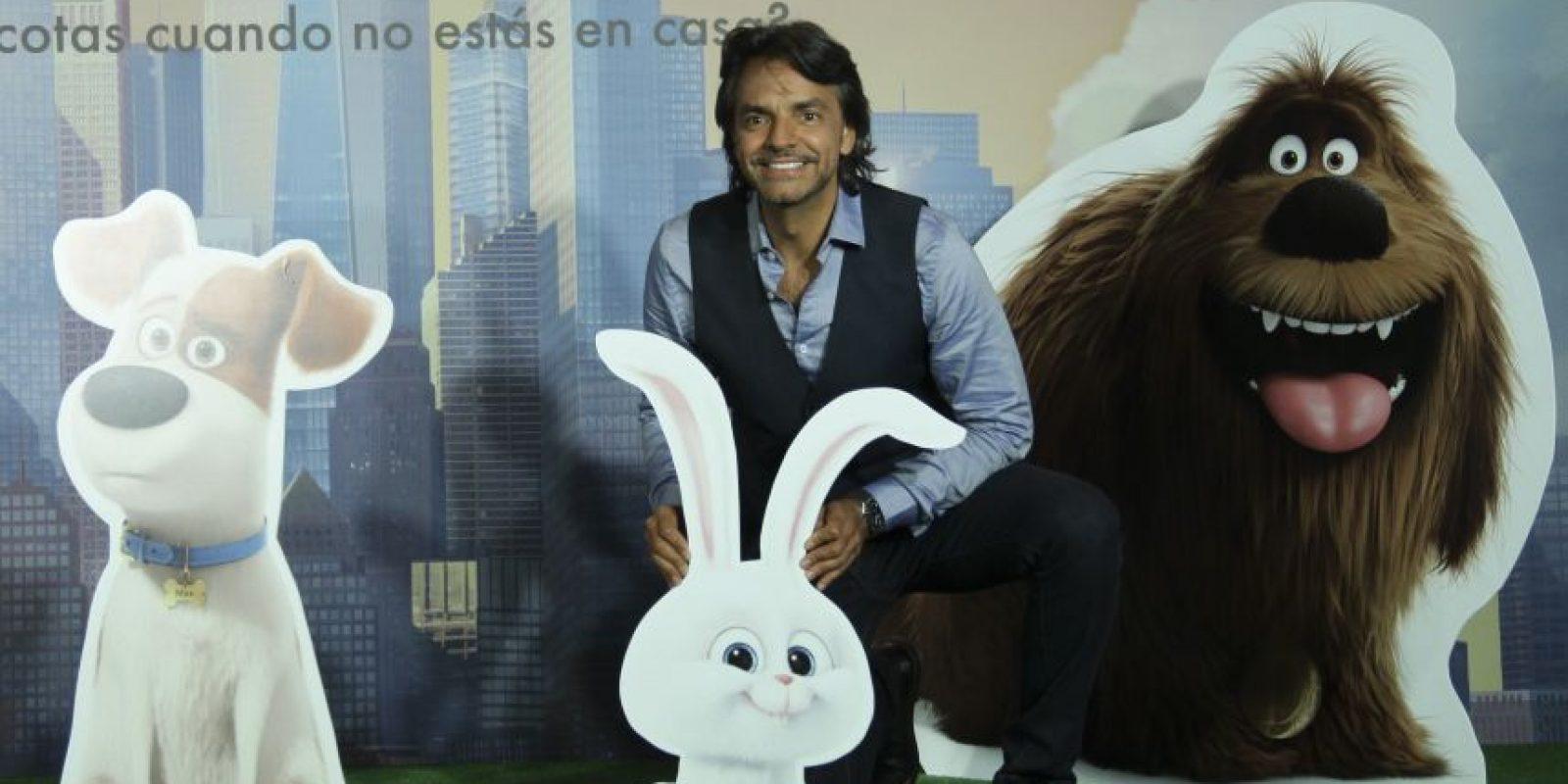 Eugenio Derbez da voz al tierno y violento Snowball Foto:Cuartoscuro