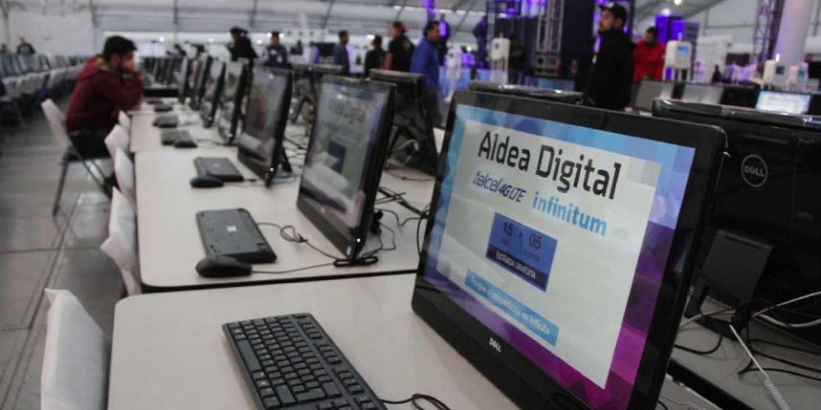 Más de 400 mil personas que podrán disfrutar de una conexión de 100 giga bytes Foto:Nicolás Corte / Publimetro