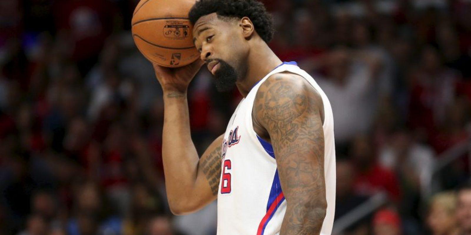 Los más perjudicados en la actualidad: DeAndre Jordan (Los Angeles Clipper) Foto:Getty Images