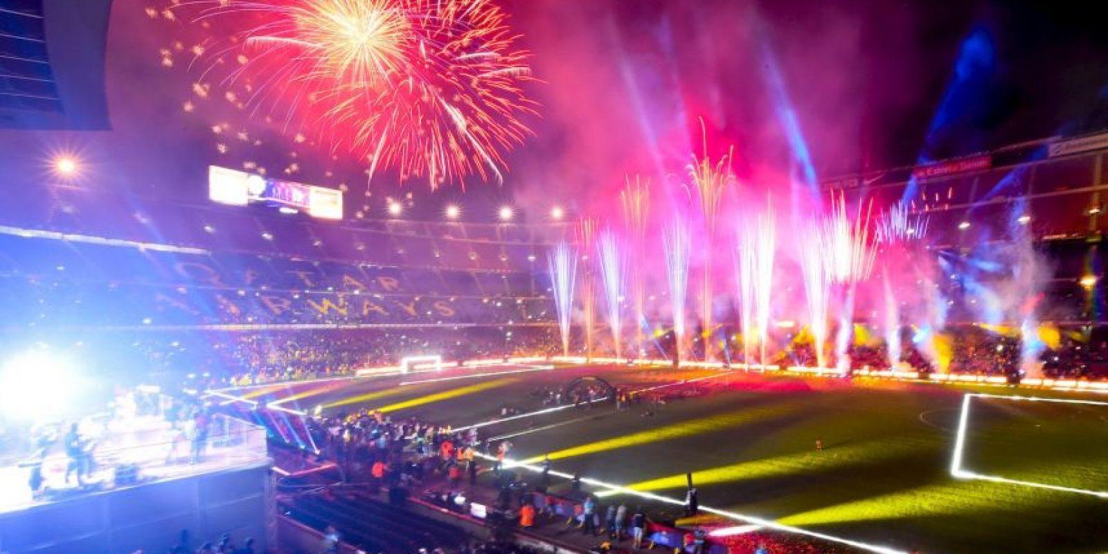 Los blauguranas subieron un puesto con respecto a 2015 y su valor es de 3.550 millones de dólares Foto:Getty Images