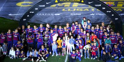 Barcelona completa el podio Foto: Getty Images