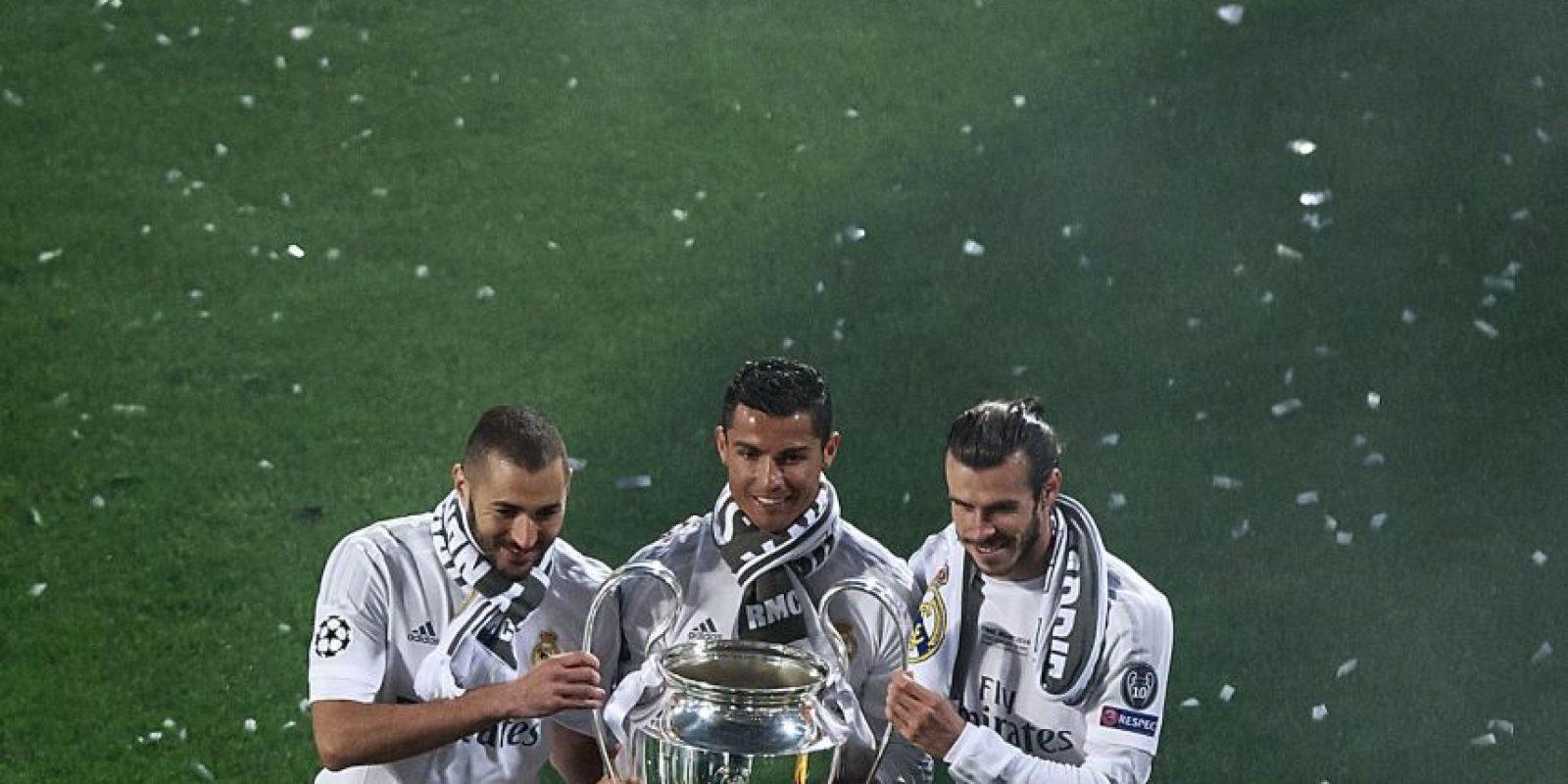 Real Madrid era primero por tres años consecutivos Foto:Getty Images