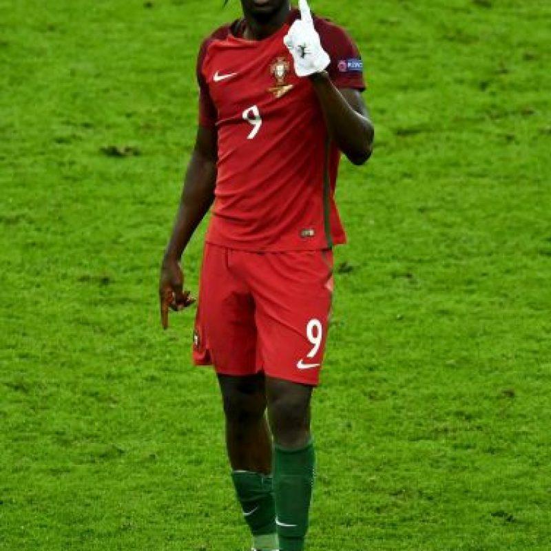 Luego de ser el héroe de Portugal, Eder se dio a conocer en el fútbol Foto:Getty Images
