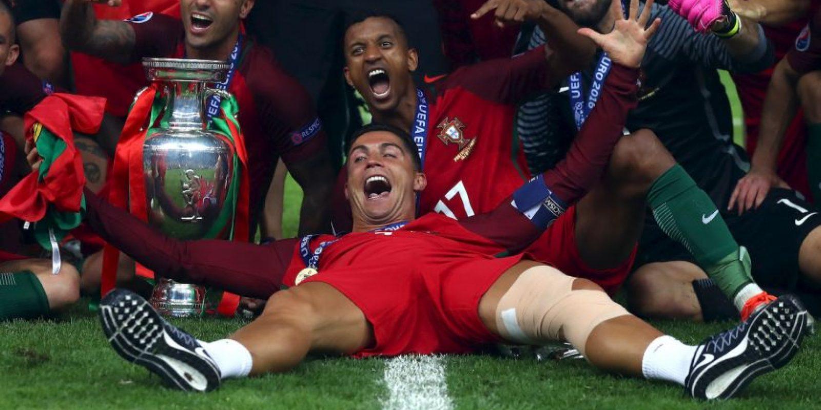 Portugal campeón de la Euro por primera vez Foto:Getty Images