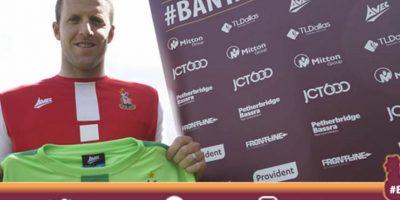 Colin Doyle llegó a Bradford por una libra esterlina (1,29 dólares) Foto:Twitter oficial Bradford