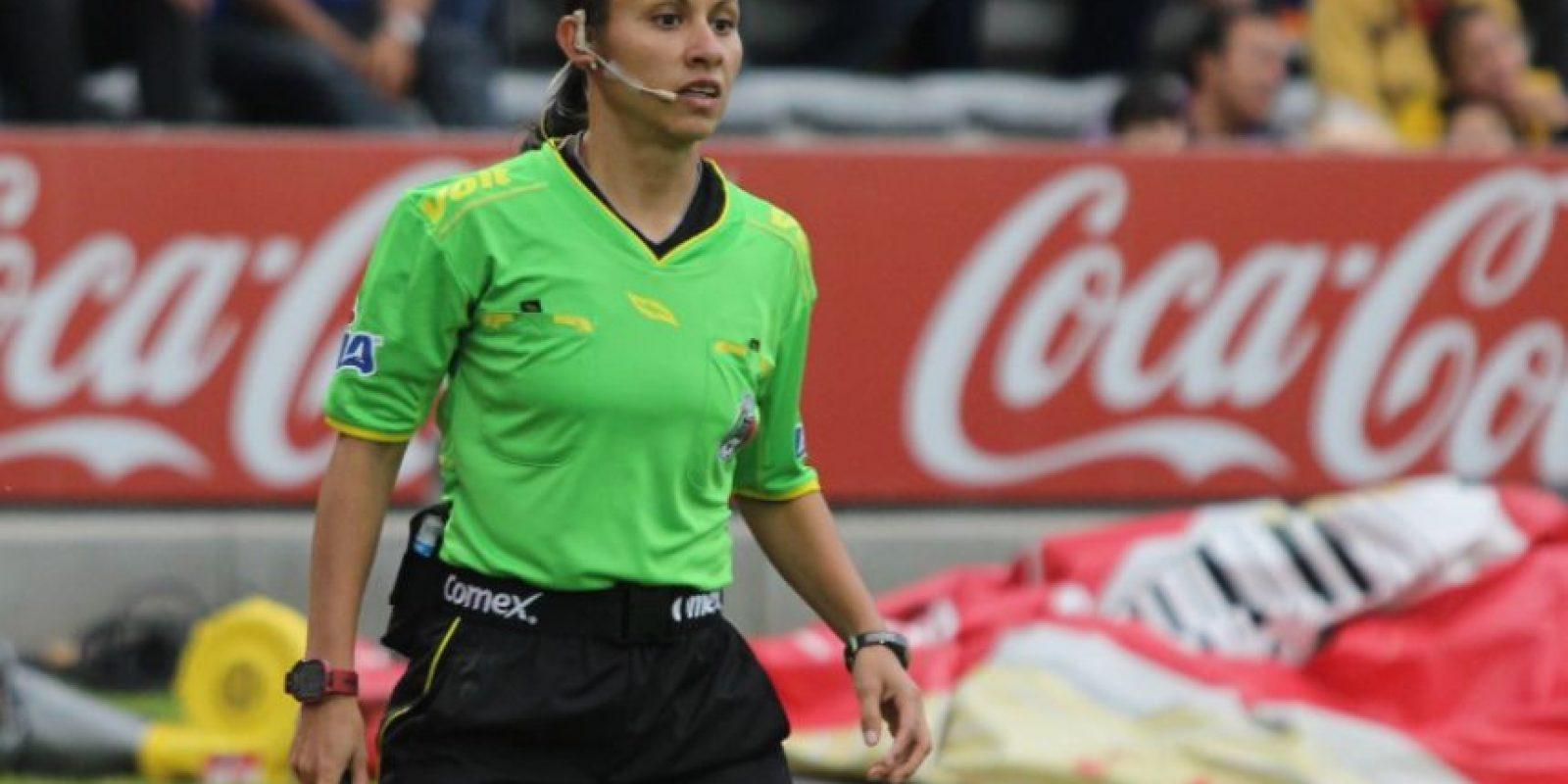Mayte Ivonne Chávez García.- Las tres mujeres que debutarán como árbitros en el Apertura 2016 Foto:Femeffut.org.mx