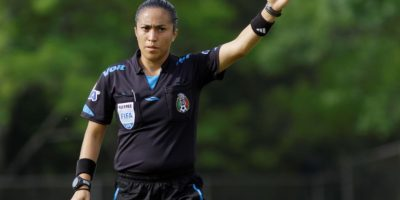 Enedina Caudillo Gómez.- Las tres mujeres que debutarán como árbitros en el Apertura 2016 Foto:Femeffut.org.mx