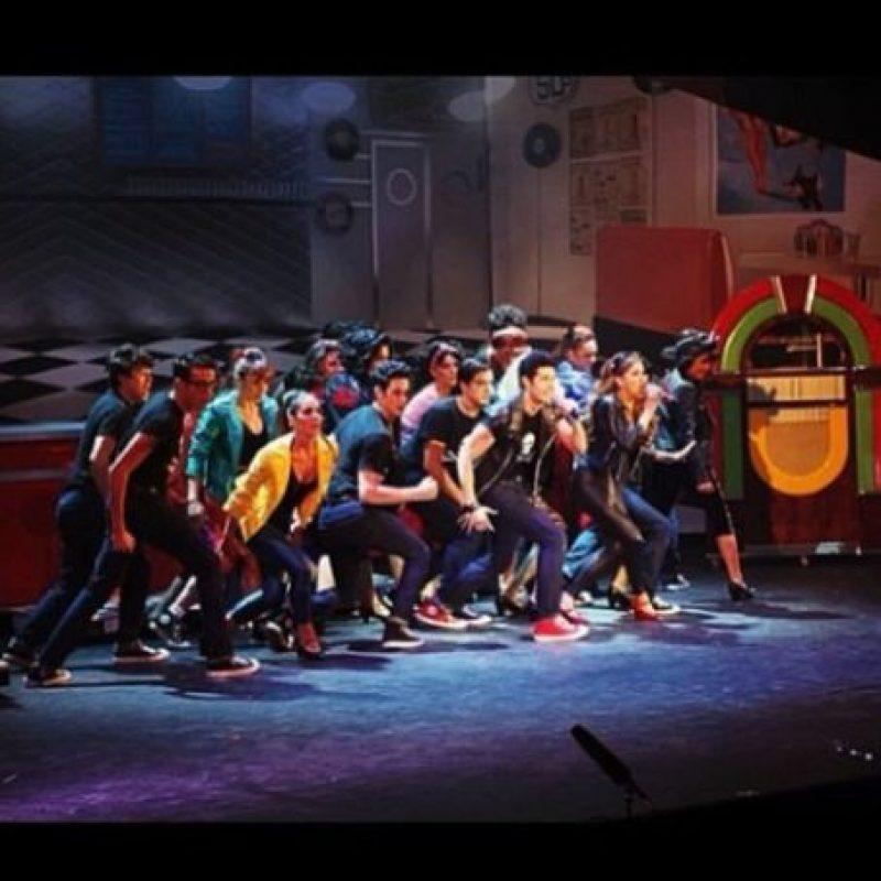 Alejandro también incursionó en el teatro musical Foto:vía instagram.com/alejandrospeitzer