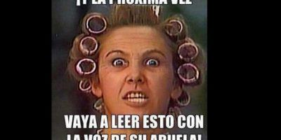 Acá, cuando Doña Florinda golpeaba a Don Ramón. Foto:vía Twitter