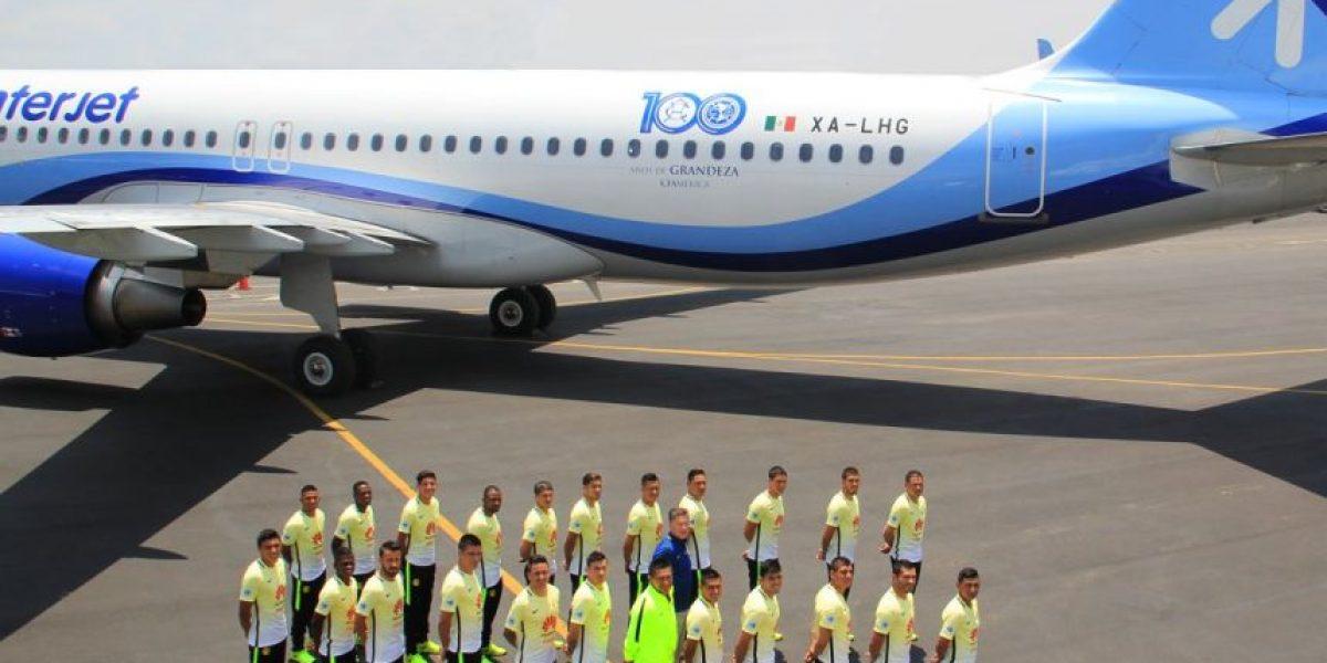América, con avión especial para festejar su Centenario