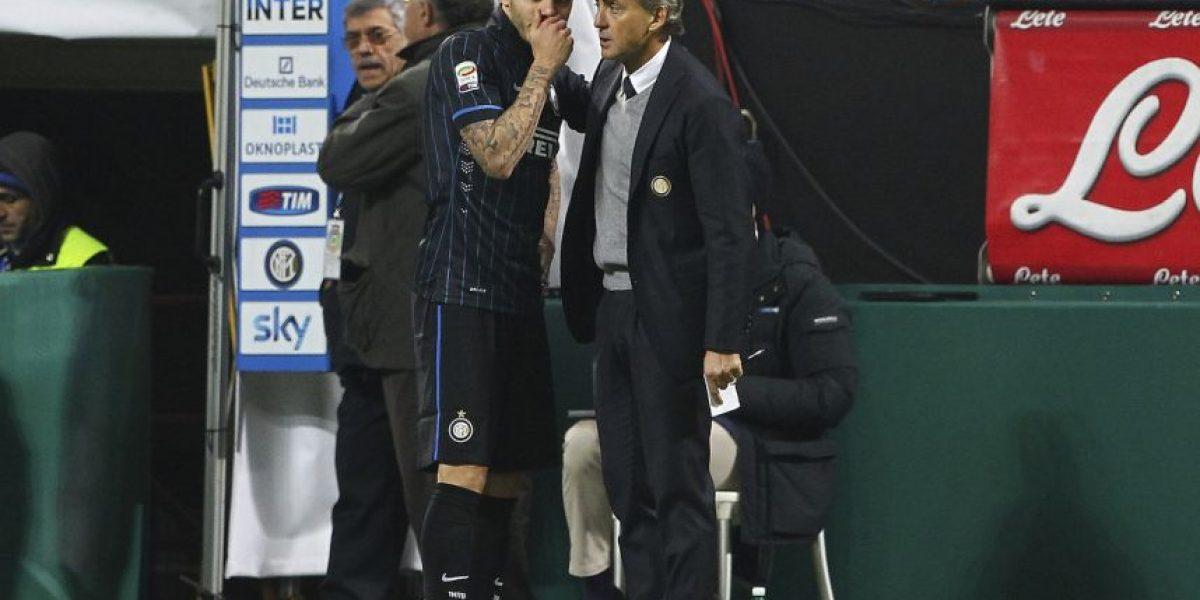La notable respuesta de Mancini sobre el futuro de Icardi