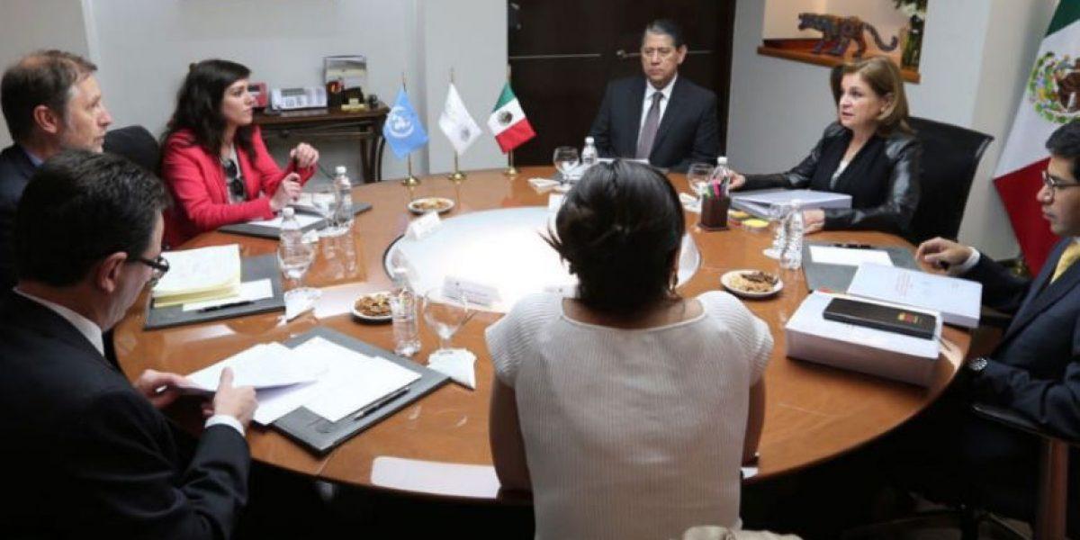 Arely Gómez y representantes de ONU-DH dialogan sobre caso Nochixtlán