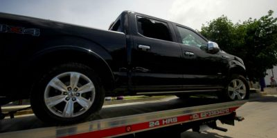 Isaías Capeline Lizárraga fue asesinado cuando viajaba a bordo de una camioneta negra Foto:Cuartoscuro