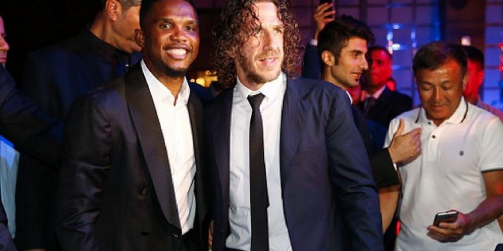 Samuel Eto'o y Carles Puyol se encuentran en Turquía. Foto:Getty Images