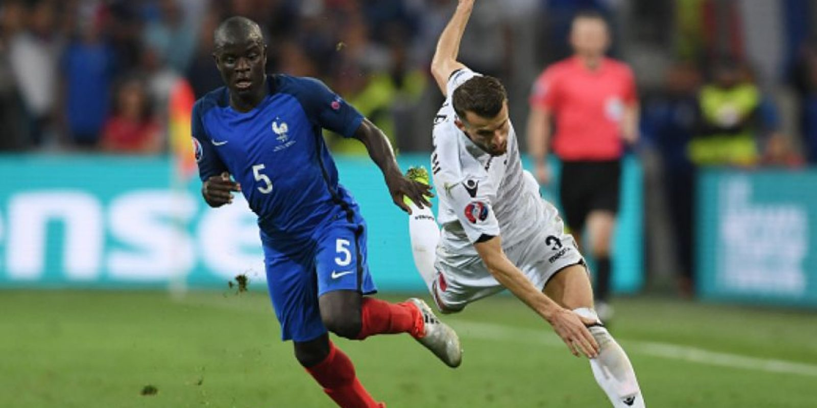 Kante disputó la Euro 2016 con Francia. Foto: Getty Images