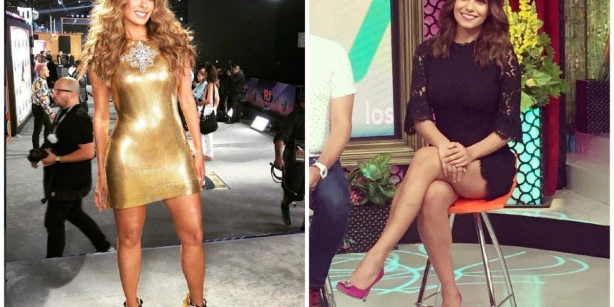 Galilea Montijo no es tan original; copió modelito a Tania Rincón