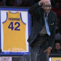 Fallece leyenda de la NBA Nate Thurmond Foto:AP