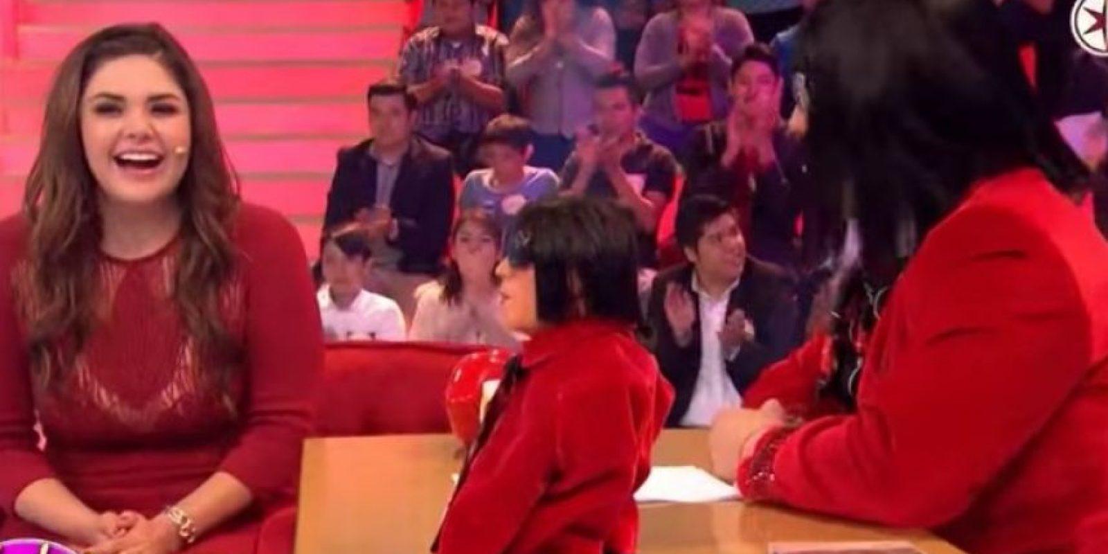 """Yuridia en """"Sabadazo"""" Foto:Televisa"""