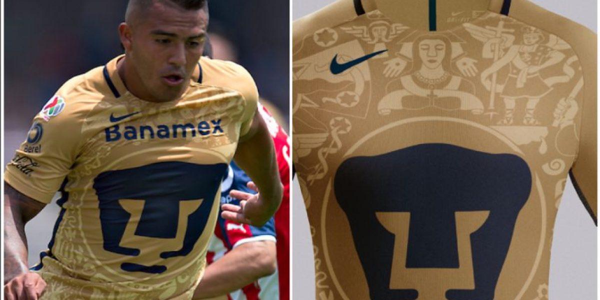 FOTOS: Afición de Pumas se queja del patrocinio en su jersey