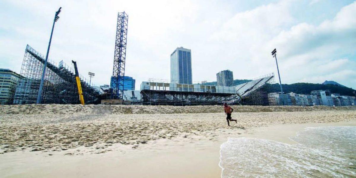 ¿La playa Copacabana está lista para los Juegos Olímpicos Rio 2016?