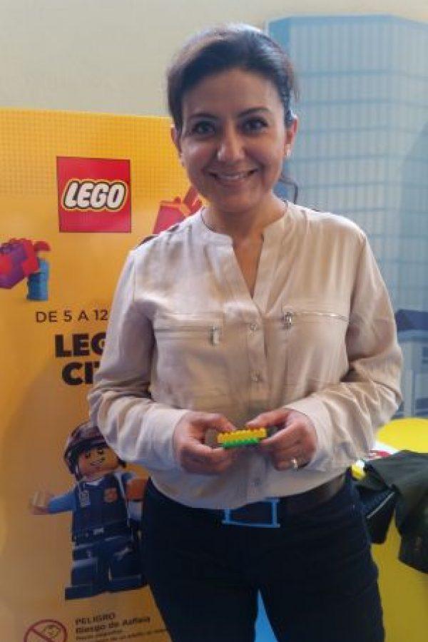 Brenda Quevedo, directora de mercadotecnia de Lego México Foto:Alexandra Ortiz