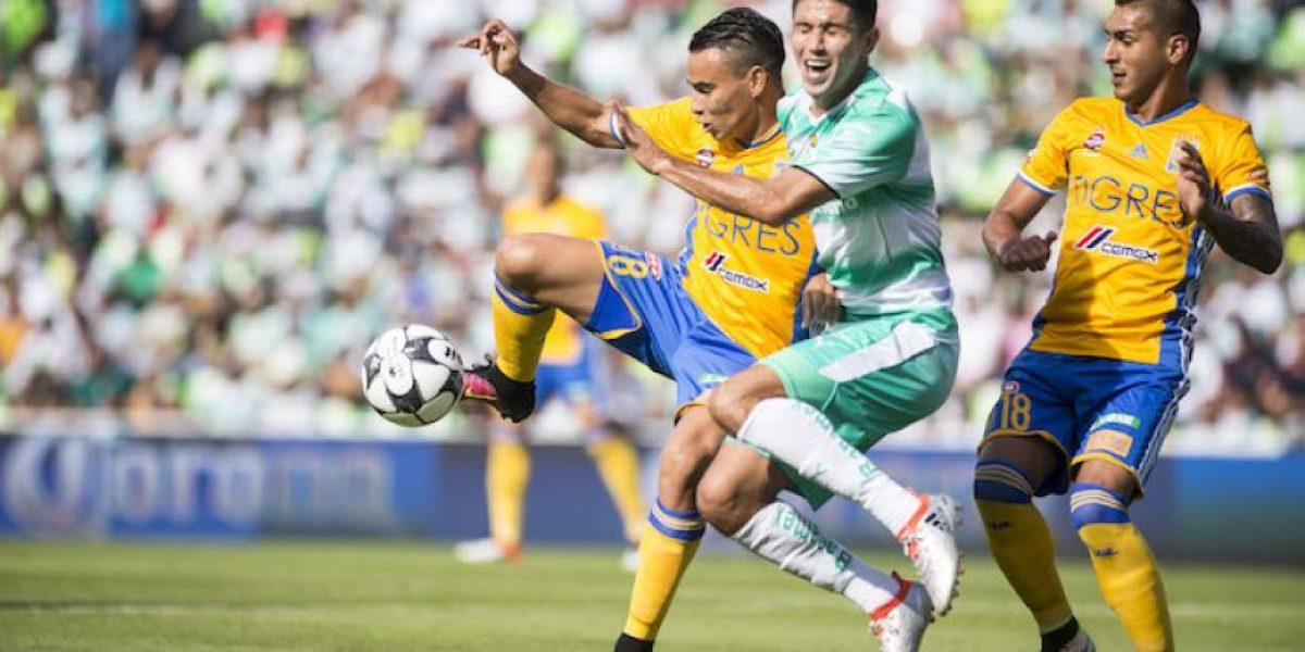 Santos y Tigres cierran la jornada 1 con empate sin goles