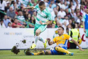 Santos y Tigres cierran la jornada 1 con empate sin goles Foto:Mexsport