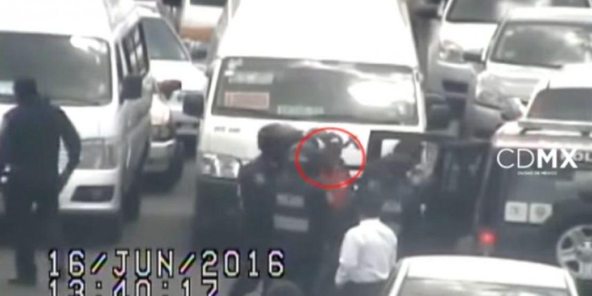 VIDEO: Denuncia a asaltantes y los detienen en 5 minutos