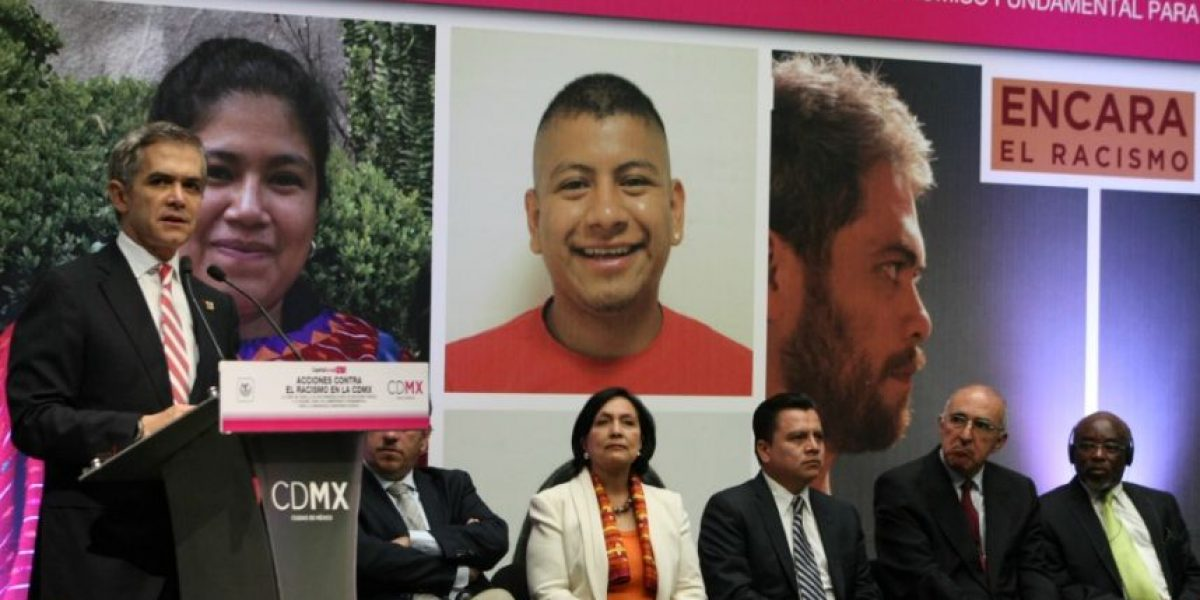 Mancera lanza decálogo contra el racismo en la CDMX