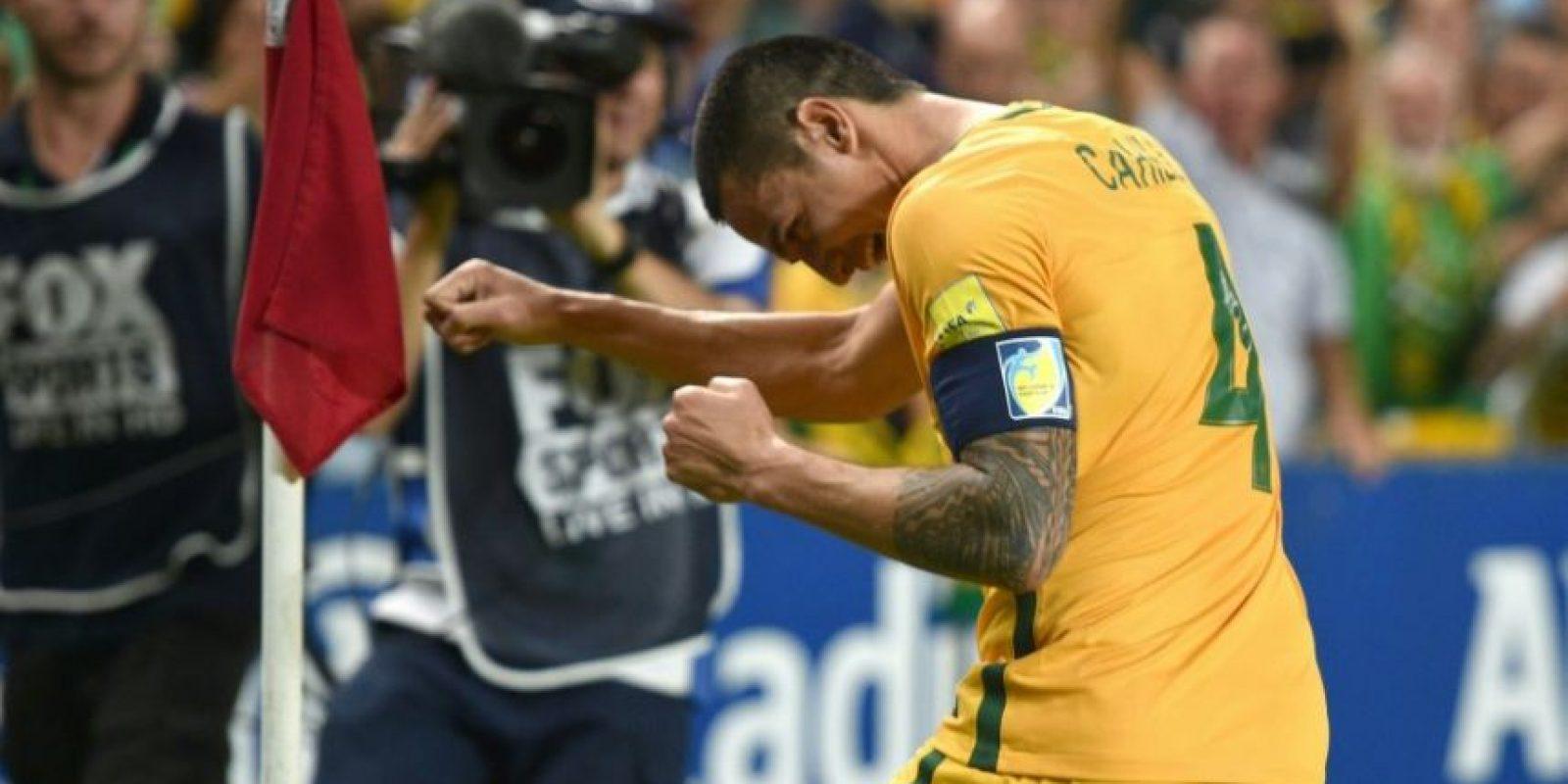 Tim Cahill: El delantero es el máximo anotador de la historia de la selección australiana y sus mejores momentos los vivió en Everton, donde jugó entre 2002 y 2014. Luego partió al fútbol chino y ahora busca el que podría ser su último contrato en el fútbol. Foto:AFP
