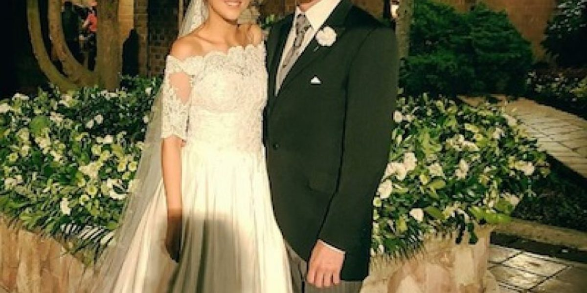 La romántica boda de Paulina Goto y Horacio Pancheri