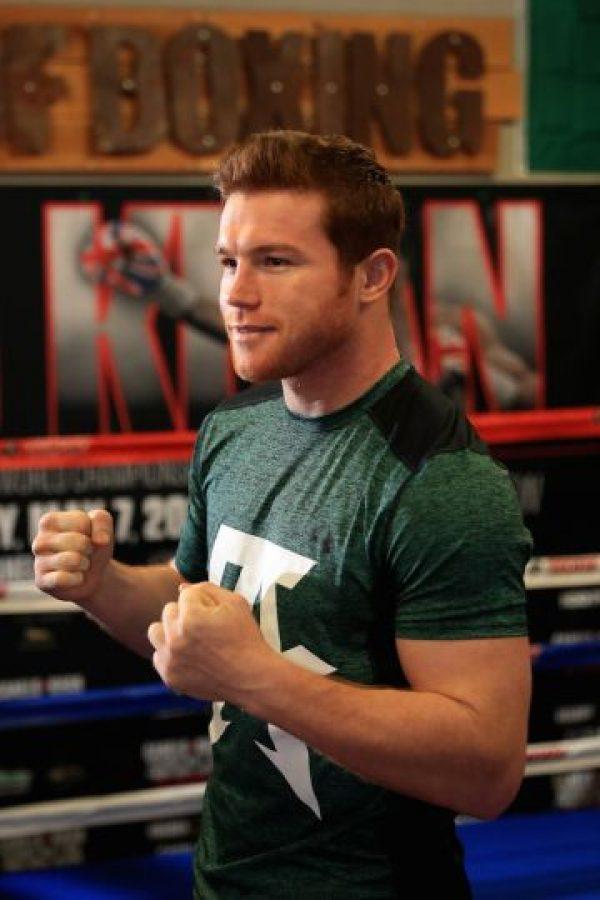 """Las mejores peleas de Saúl """"Canelo"""" Álvarez Foto:Getty Images"""