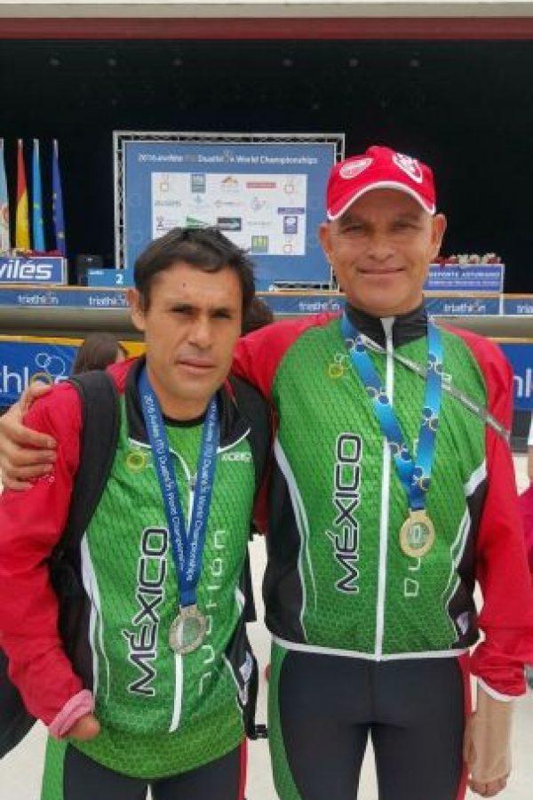 Mario Santillán y Aureliano Valenzuela Foto:Cortesía Mario Santillán y Aureliano Valenzuela