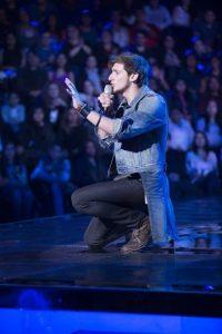 Jorge Eduardo es semifinalista de J Balvin. Foto:Televisa